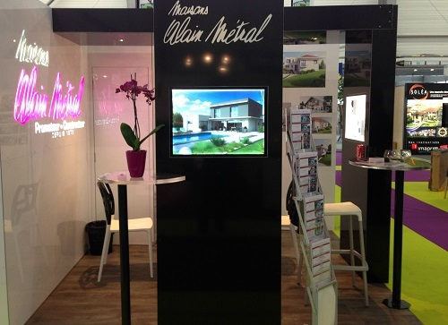 fabricant mobilier stand en kit