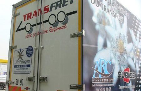 Habillage publicitaire de véhicule : logotage, semi-covering, décoration et personnalisation