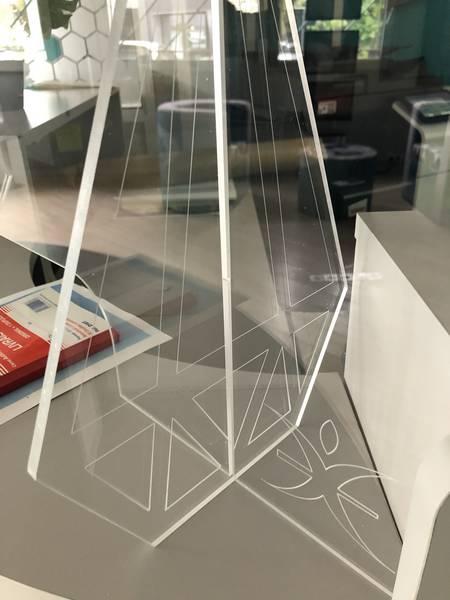 hygiaphone, écran de protection plexi bureau