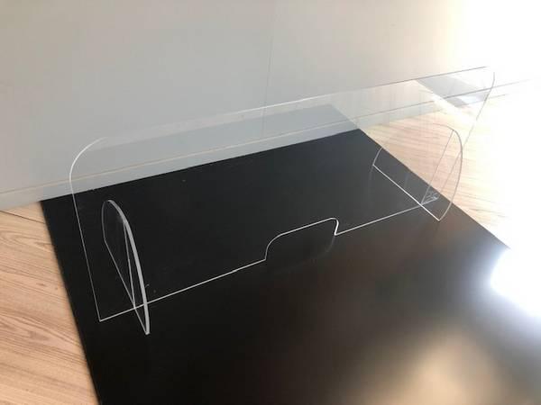 protection plexiglass bureau, comptoir